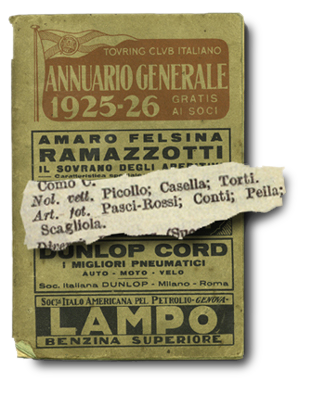 Annuario Generale Touring Club Italiano - 1925-26